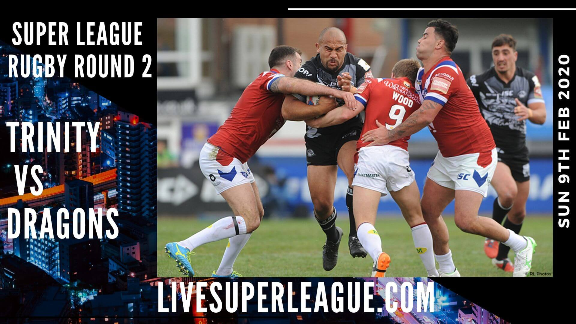 Watch Wakefield Trinity VS Catalans Dragons Online