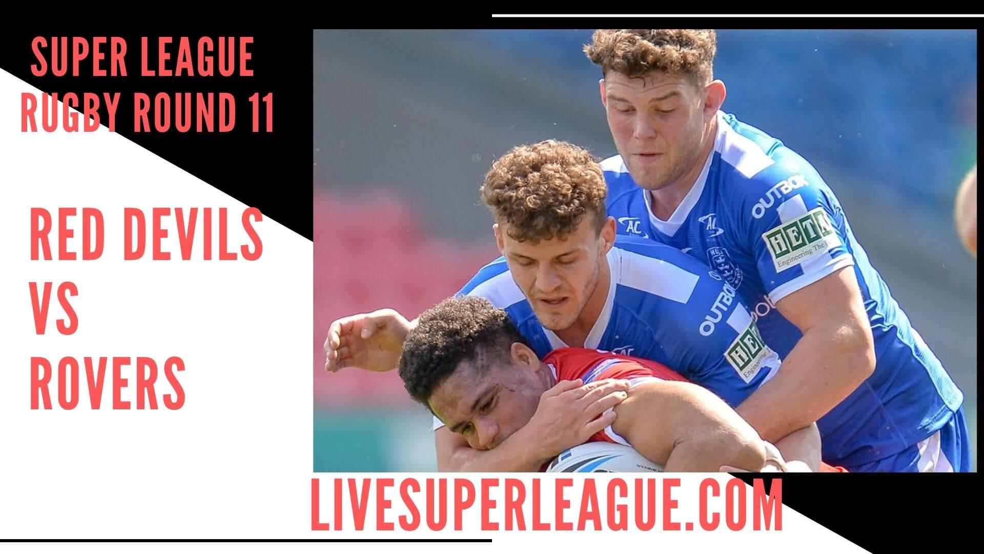 Salford Red Devils Vs Hull Kingston Rovers   Round 11