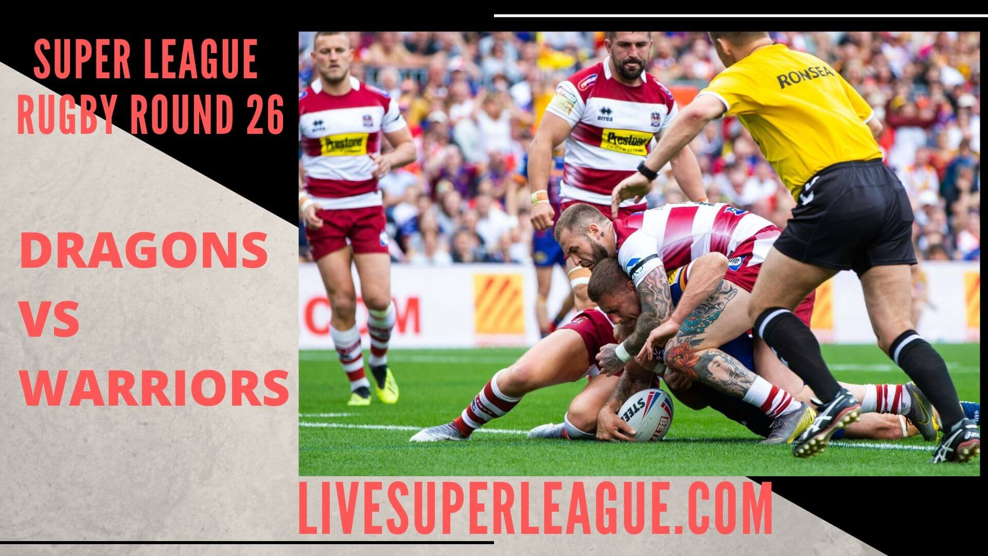 Catalans Dragons Vs Wigan Warriors Live Stream | Round 26: Full Match Replay