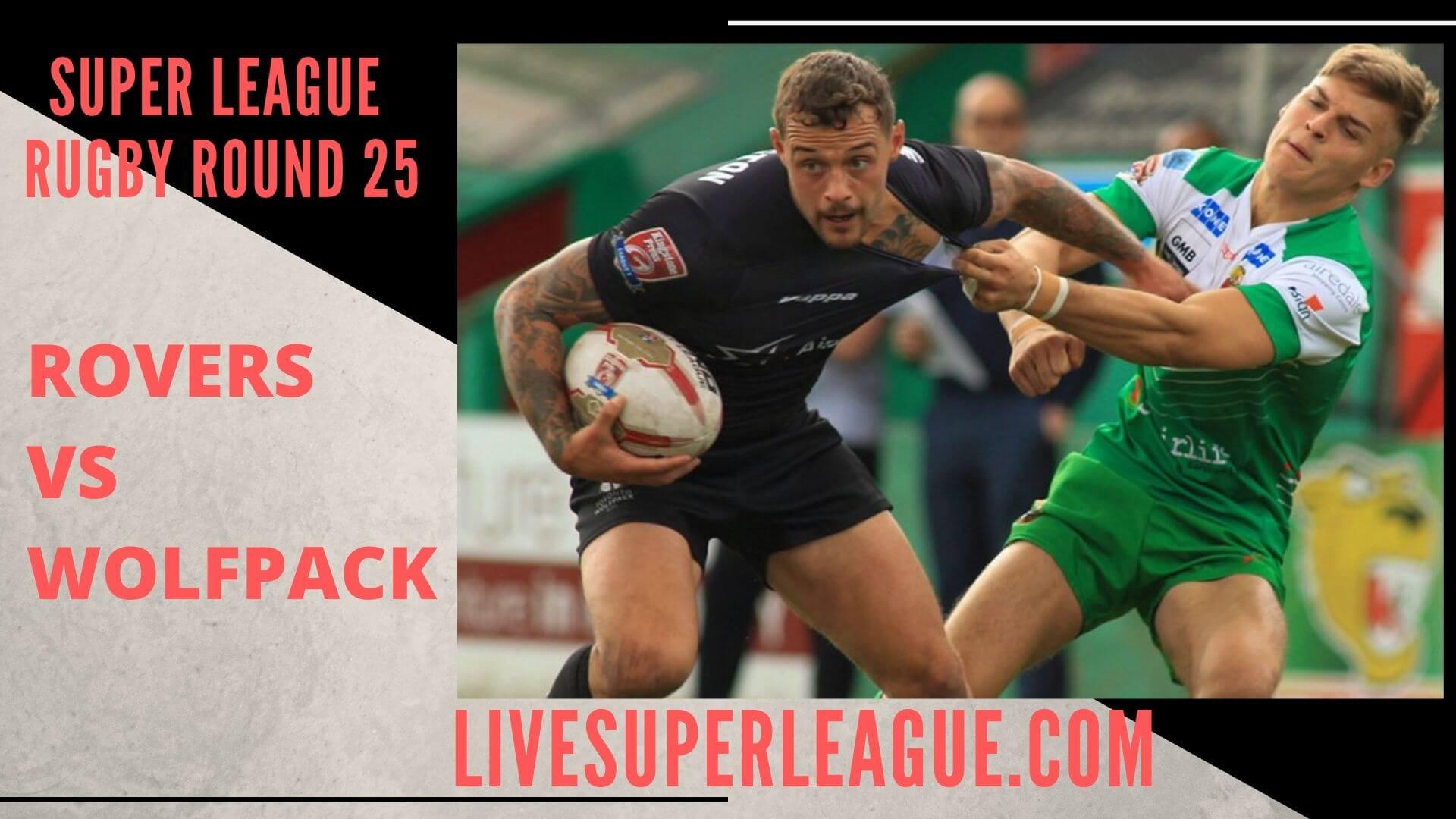 Hull Kingston Rovers Vs Toronto Wolfpack Live Stream   Round 25
