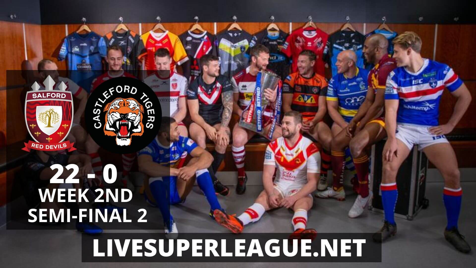 Salford Red Devils Vs Castleford Tigers Highlights 2019 Week 2