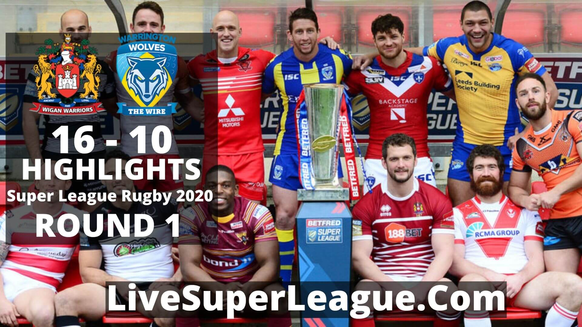 Wigan vs Warrington Highlights 2020 Round 1