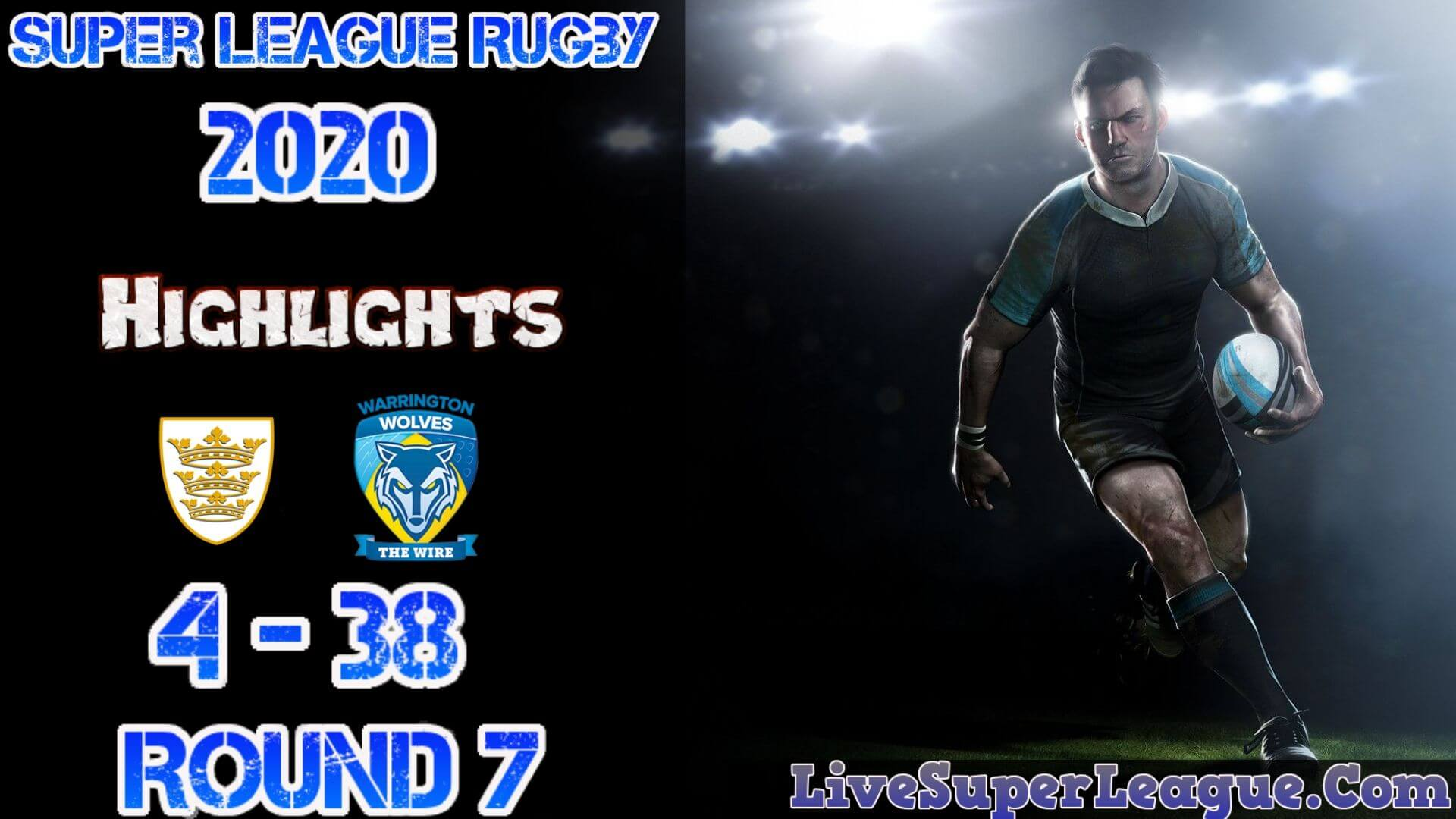 Hull FC Vs Warrington Super League Rugby Result 2020 Rd7