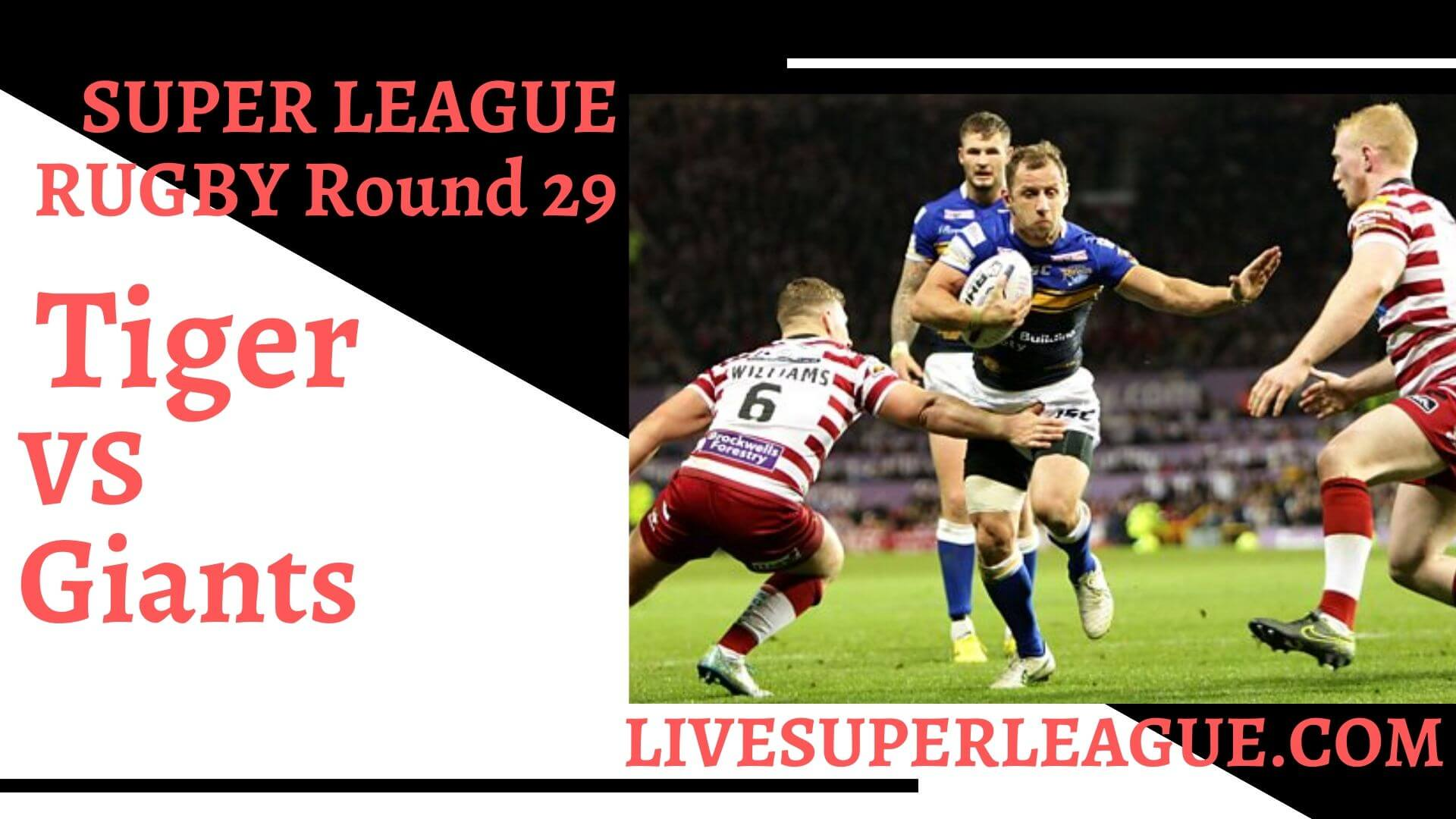 Castleford Tiger Vs Huddersfield Giants Live Stream | Round 29: Full Match Replay