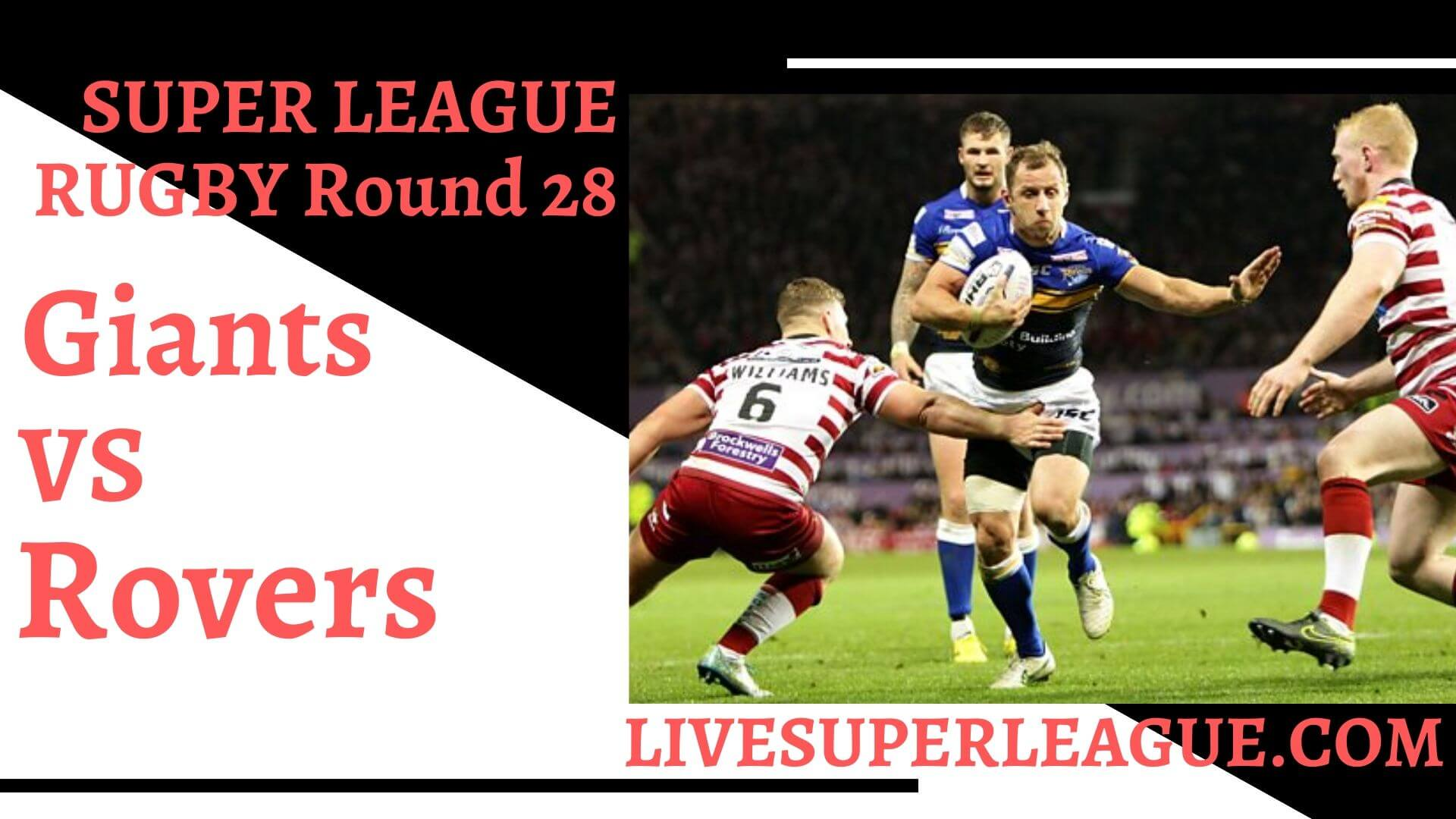 Huddersfield Giants Vs Hull Kingston Rovers Live Stream | Round 28: Full Match Replay