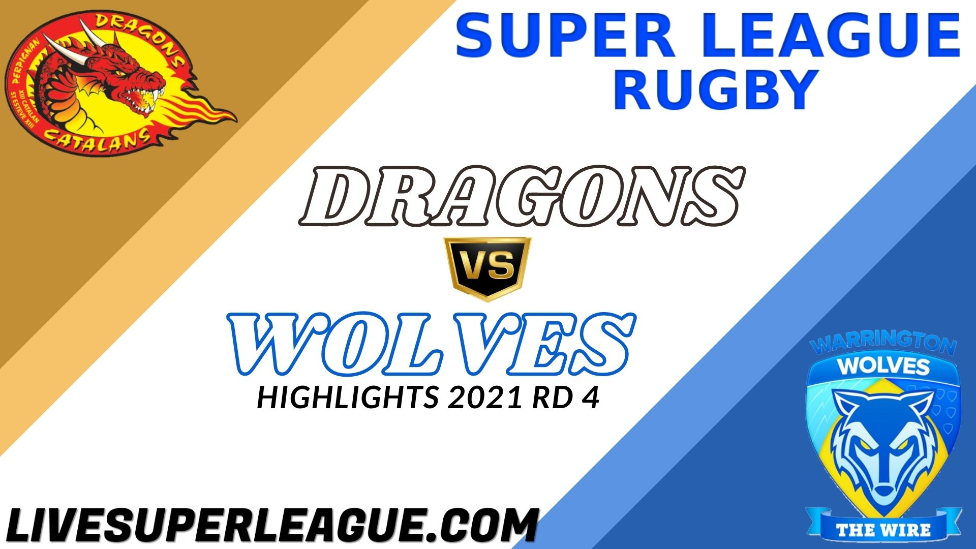 Dragons Vs Wolves Highlights 2021