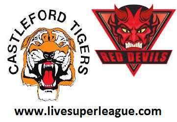 Watch Castleford Tigers VS Salford Red Devils Live