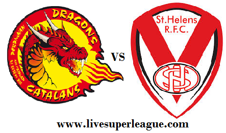 Live St Helens VS Catalans Dragons Telecast
