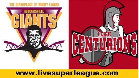 Watch Leigh Centurions VS Huddersfield Giants Online