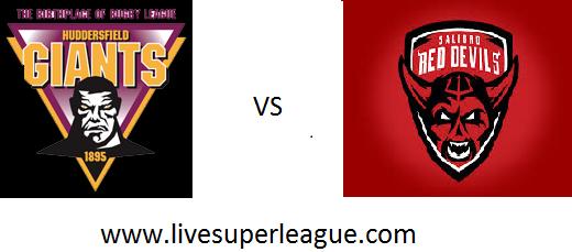 Live Salford Red Devils VS Huddersfield Giants Telecast