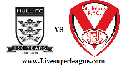 Watch Hull FC VS St Helens Live