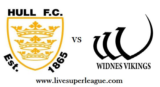 Live Widnes Vikings VS Hull FC Streaming