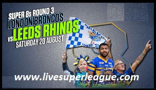 Leeds Rhinos vs London Broncos
