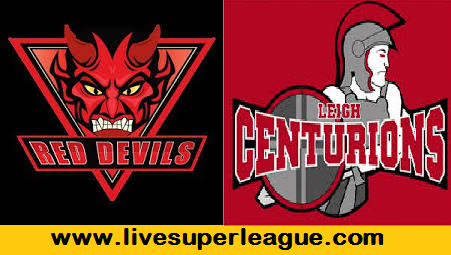 Live Leigh Centurions VS Salford Red Devils Coverage