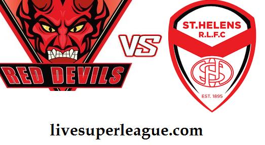 Watch Salford Red Devils VS St Helens Online