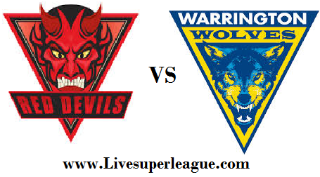 Watch Salford Red Devils VS Warrington Wolves Live