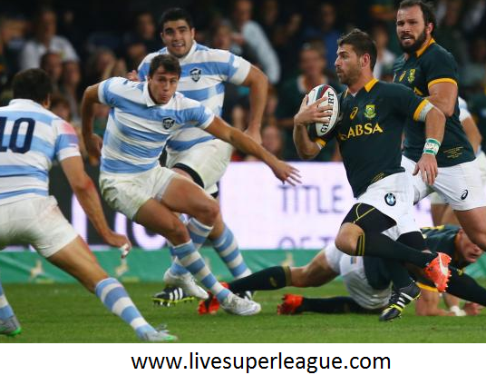 Live Rugby Argentina vs South Africa