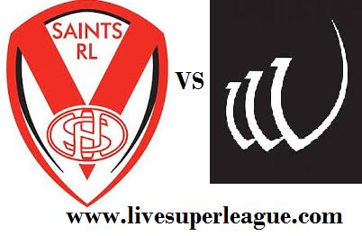 Watch St Helens VS Widnes Vikings Online