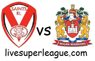 Watch Wigan Warriors VS St Helens Live