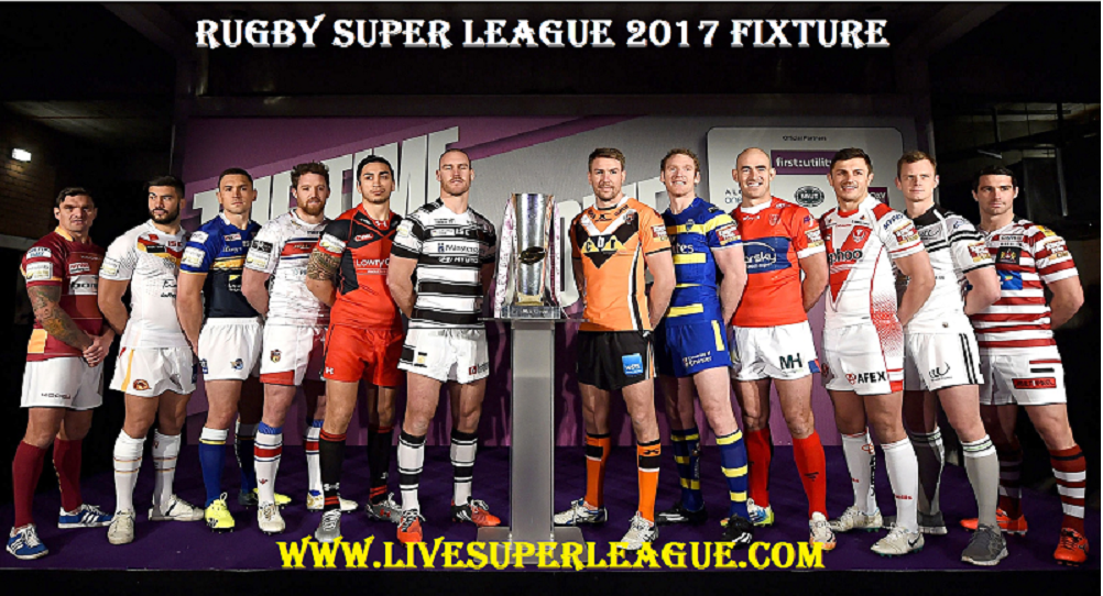 Rugby Super League 2017 Fixture