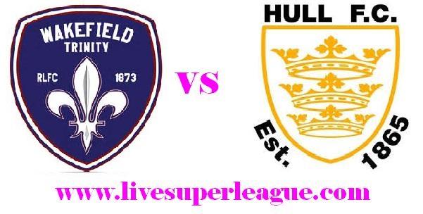 Live Wakefield Trinity V Hull FC Telecast