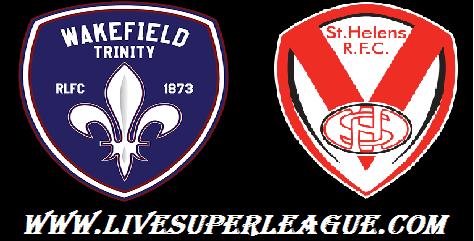 Watch Wakefield Trinity VS St Helens Live