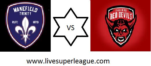 Live Wakefield Trinity VS Salford Red Devils Coverage