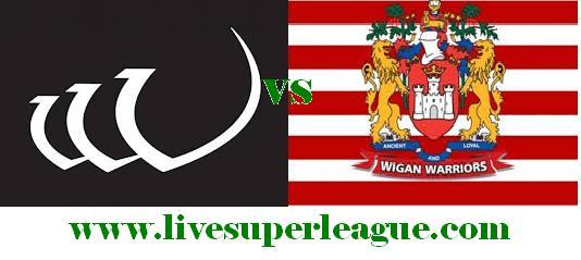 Watch Wigan Warriors VS Widnes Vikings Online