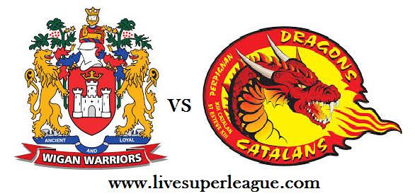Watch Catalans Dragons VS Wigan Warriors Online