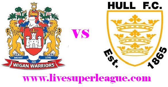 Live Hull FC VS Wigan Warriors Coverage